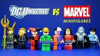 LEGO DC Universe vs Marvel Superheroes Knock Off Minifigures Set 4 (Bootleg)
