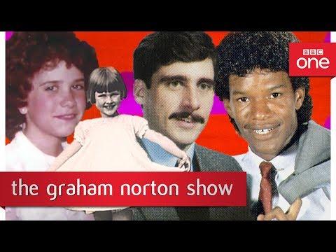 Old photos of Dame Judi Dench Jamie Foxx Steve Carell and Kristen Wiig The Graham Norton Show