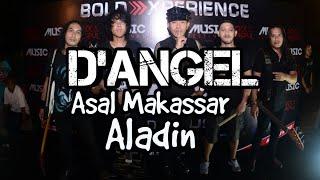 Band ROCK Asal MAKASSAR D'ANGEL Sala Satu Band Legend tampil d FESTIVAL ROCK IN MASPUL