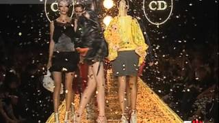 """""""Christian Dior"""" Spring Summer 2003 Paris 3 of 3 Pret a Porter Woman by FashionChannel"""