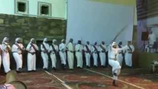 فرقة عسير حفل افتتاح فعاليات مهرجان أبها 1435 بالمفتاحة