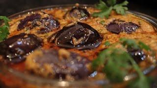 Gutti Vankaya Masala Curry-brinjal spicy curry