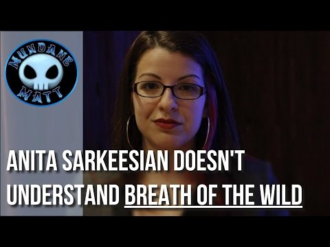 Gaming Anita Sarkeesian doesn t understand BREATH OF THE WILD