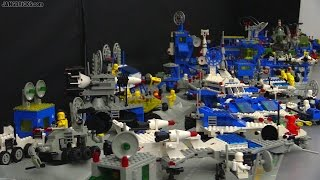 LEGO Classic Space collection - 1978 to 1988!