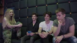 CM EXCLUSIVE: The Vamps interview Sabrina Carpenter for CelebMix