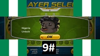 Head Soccer - How to Unlock Nigeria 9# - AMAZING SAVE!