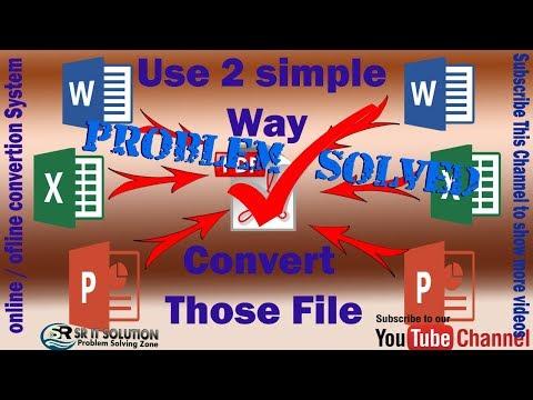Xxx Mp4 Doc ফাইলকে Pdf ফাইলে কনভাট করুন ।। Convert Word File To Pdf ।। SR IT BD 3gp Sex