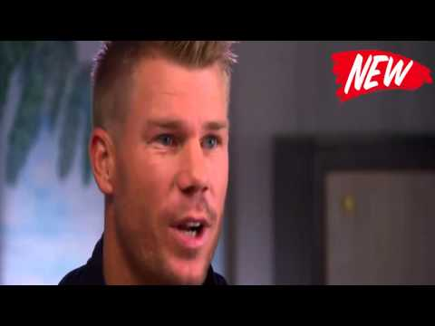 In a hilarious recount, David Warner tells how his perfect proposal didn't quite go to plan.