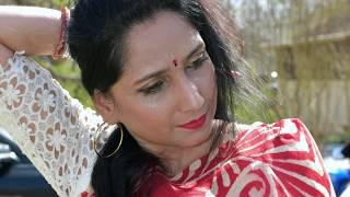 Bashonti rong shari pore. বাসন্তি  রং শারি পরে    অত্তন্ত প্রিয় গান