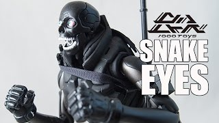 1000Toys Snake Eyes G.I. Joe Review - CollectionDX
