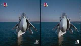 LG 3D Demo 1080p Legends of Flight   JOHN FM