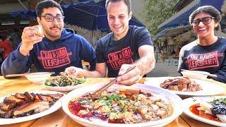 INSANE Chinese Street Food Tour Of Chengdu, China | CRAZY Chinese Street Foods in Sichuan, China!