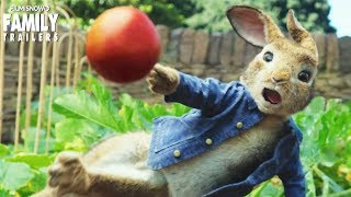 PETER RABBIT (2018)   All new international trailer for live-action family movie