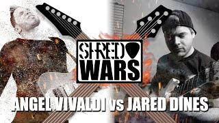 Shred Wars - Jared Dines VS Angel Vivaldi