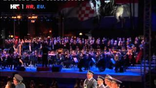 Croatian anthem - Lijepa naša domovino - LIVE - Zagreb 1.7.2013.