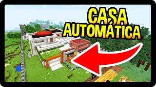 Minecraft PE 0.15.2 : A MAIOR CASA AUTOMÁTICA DO MUNDO !!!