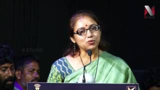 Actress Revathi speech at Power Paandi Press  Danush   Rajkiran    Dhivyadharshini