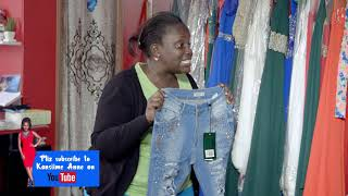The ripped jeans. Kansiime Anne. African comedy.