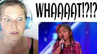 ANGELICA HALE - AMERICA'S GOT TALENT | REACTION