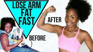 How to Lose Arm Fat FAST || Tighten and Tone Loose Flabby Arms