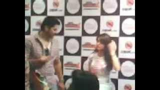 Aamna Shariff At Aao Wish Karein Promotion Part 1