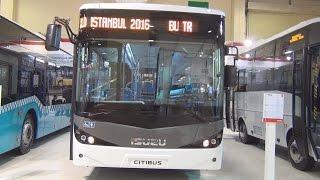 Isuzu Citibus ISB4.5E6 210B Bus (2016) Exterior and Interior in 3D