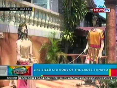 BP Life sized stations of the cross itinayo sa Bataan