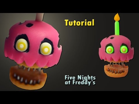 Xxx Mp4 FNaF 4 ★ Nightmare Cupcake Tutorial Porcelana Fria ★ Clay ★ Plasticina 3gp Sex