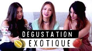 CES FRUITS QUE PERSONNE NE CONNAIT ! 😱   Shiu Li, Camille GrandXo et Ash WayOfLife