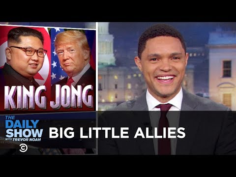 Big Little Allies The Daily Show
