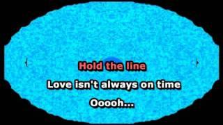 Hold the Line - Toto (Karaoke)