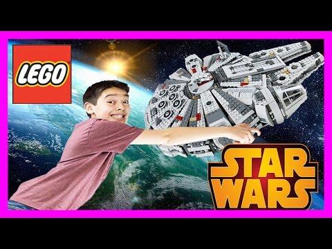 Xxx Mp4 The Force Awakens MILLENNIUM FALCON LEGO Star Wars Set 75105 Time Lapse Build Unboxing Review 3gp Sex