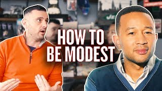 The Trick to Being Humble While Famous | #AskGaryVee with John Legend
