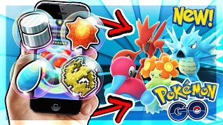 BACK TO BACK EVOLUTION ITEMS (Pokemon Go)