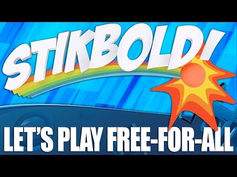 Stikbold Crazy dodgeball game free for all tournament