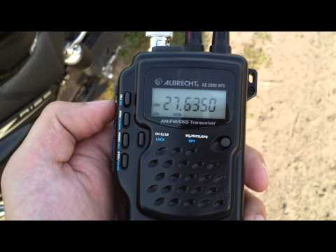 Albrecht AE2990 AFS Hyflex 54cm SSB USB 27.555 and others PART 1 2