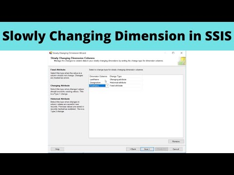Slowly Changing Dimension in SSIS
