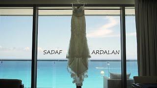 PERSIAN WEDDING    SECTRETS THE VINE CANCUN    SADAF & ARDALAN