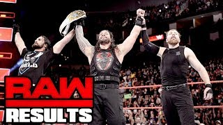 Reigns Wins IC Title! WWE Raw Review 11/20/17: Going in Raw Pro Wrestling Podcast Ep. 323