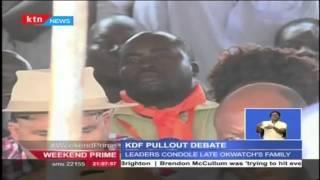 Cord leaders revives KDF withdrawal calls