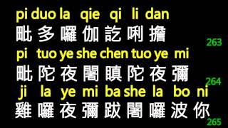 万佛城唱诵楞严咒 繁体+拼音原版