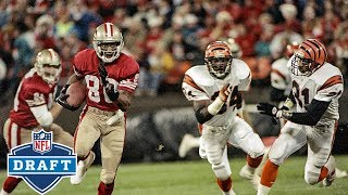 Jerry Rice and the 2 Receivers Drafted Above Him!   NFL Draft Stories