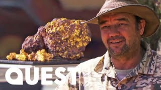 Crew Hits The Jackpot With A Miracle Gold Find | Aussie Gold Hunters