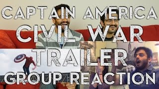 Captain America Civil War Trailer 2 - Group Reaction