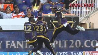 IPL 2016 : KKR vs SRH Full match highlight | SRH vs KKR - Best Fielding in IPl 2016 #SlideShow