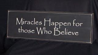 رجل من استراليا أراد معجزة حتى يؤمن. فما الذي حدث؟