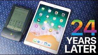 iPad Pro 10.5 vs Apple Newton - 24 Years of Tablets
