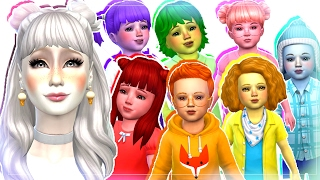 7 Toddler Challenge - The Sims 4 : Meet the Toddlers! Ep1