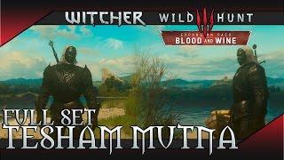 The Witcher 3: Blood and Wine - Tesham Mutna Armor Set (Vampiric Aura) Location & Showcase