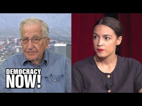 "Noam Chomsky on Alexandria Ocasio Cortez's ""Spectacular"" Victory & Growing Split in Democratic Party"